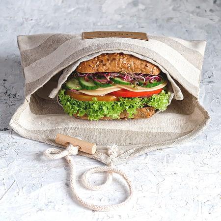 Lentule linen sandwich wrap