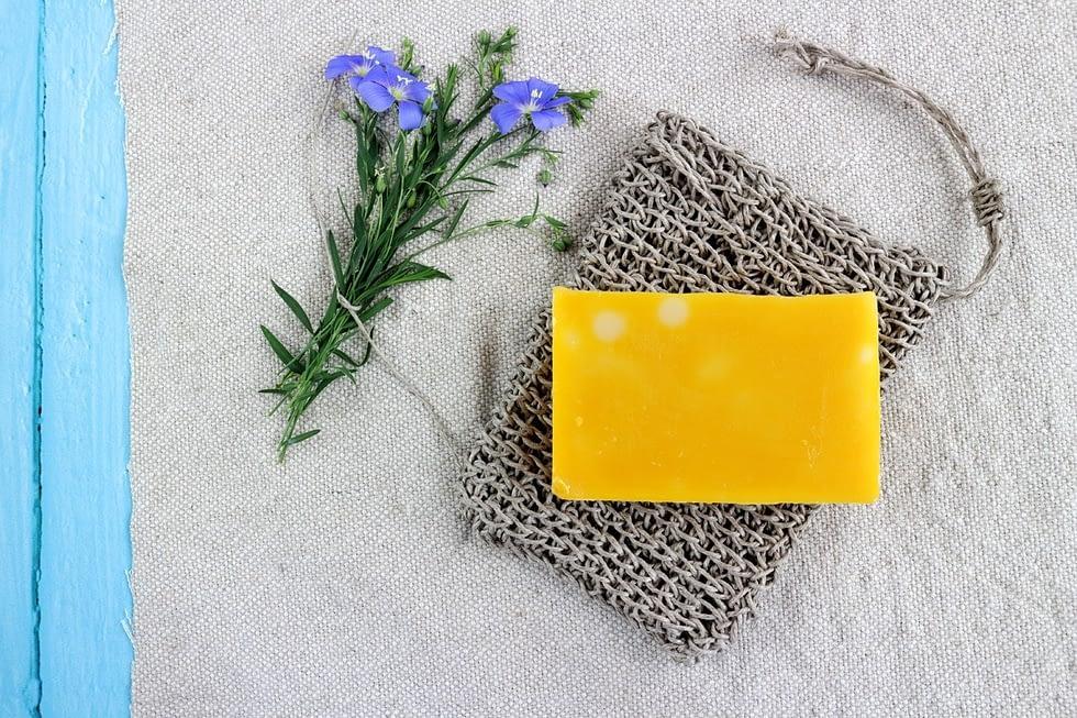 Linen soap saver